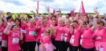 The Your Print Partner team at Lincoln Race for Life. Photo: Steve Smailes/The Lincolnite