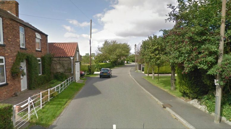 Scothern Lane will be closed for two weeks to allow for the flood prevention works. Photo: Google Street View