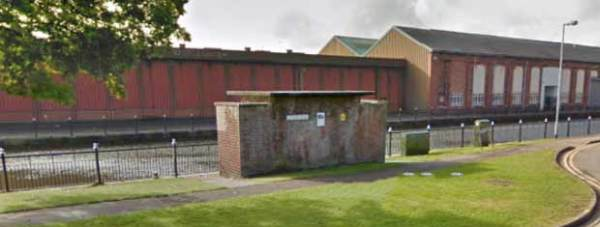 Disused urinal facilities in Stamp End, Lincoln. Photo: Google Street View