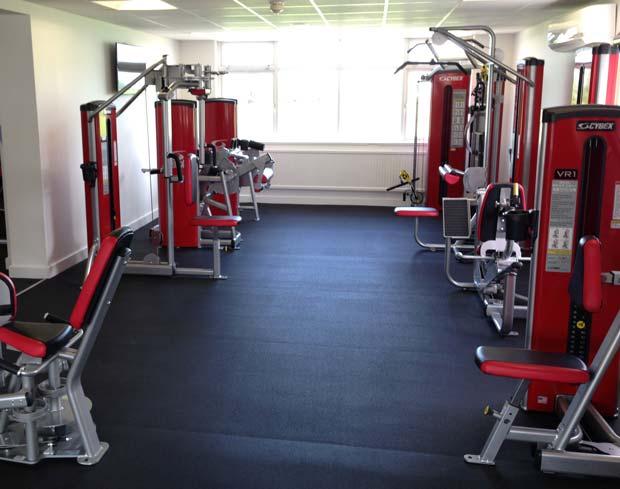 Equipment at the Branston Community Academy gym