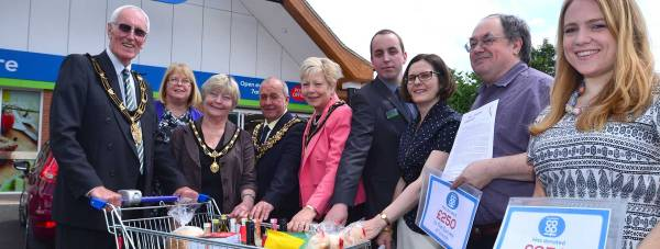 The official opening of the Boultham Park Road Co-op store in Lincoln. Photo: Steve Smailes/The Lincolnite