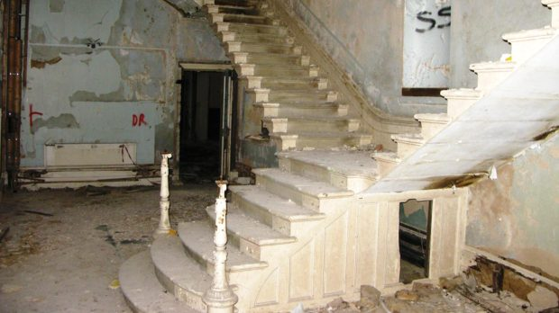 The building remained vacant for around 24 years.