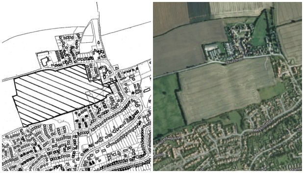 Development plans for Saxilby included 230 dwellings and a 60-home retirement village.