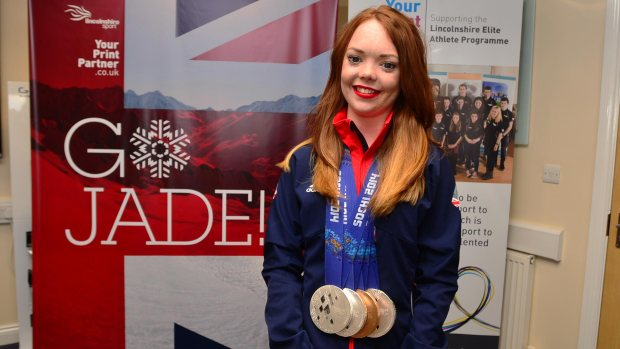 Paralympic medalist Jade Etherington said she is unsure what future her sporting career holds and whether the support will be there in four years time. Photo: Steve Smailes for The Lincolnite