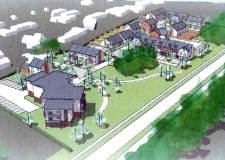 Artwork for the new homes off Westbrooke Road. Photo: Chestnut Homes