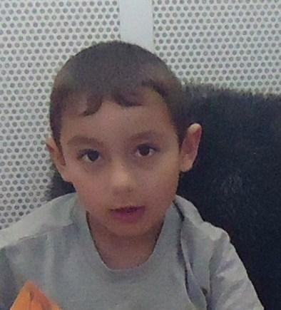 Four-year-old Suren Stepans.
