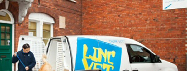 The LincVet surgery on Friars Lane in Lincoln.