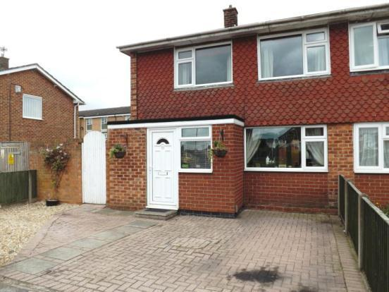 2 bedroom semi-detached house for sale in Dellfield Avenue, Lincoln
