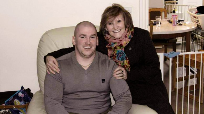 Hayden and his mum Dee, who passed away after a four-year battle with cancer.