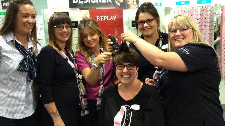 Staff at a Lincoln opticians are getting ready for a day of breast cancer fundraising.