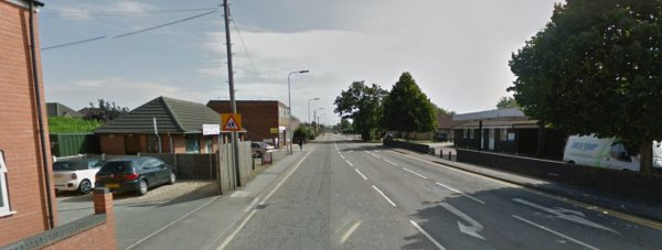 The young boy was hit on Moore Lane in North Hykeham, near to Sir Robert Pattinson Academy.
