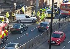 The scene of the incident on Broadgate, Lincoln. Photo: Caroline Gooch