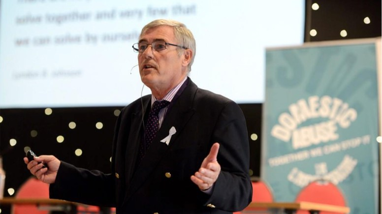 Chris Cook looked at the benefits of partnership working. Photo: Stuart Wilde