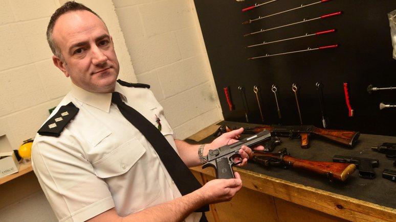 Inspector Phil Baker. Photo: Steve Smailes for The Lincolnite
