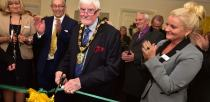 The suite was officially opened by the Chairman of West Lindsey District Council, councillor Malcom Parish. Photo: Steve Smailes for The Lincolnite
