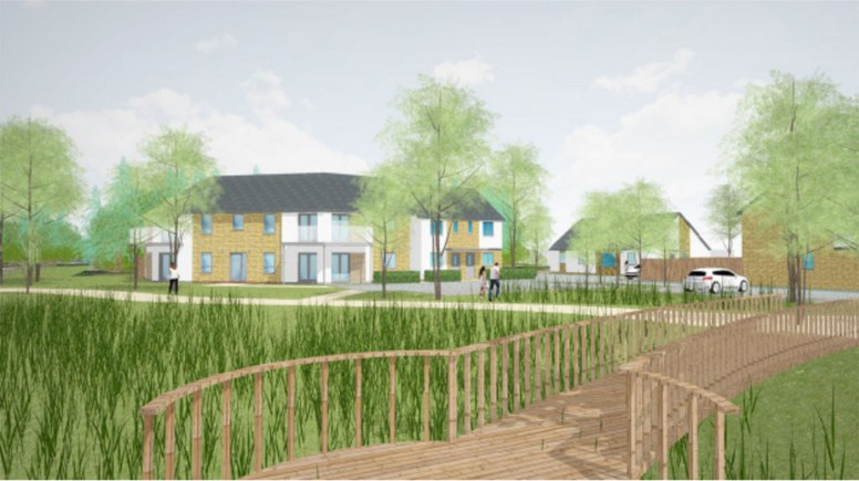 Revised plans for the 52-home development near Tritton Road.