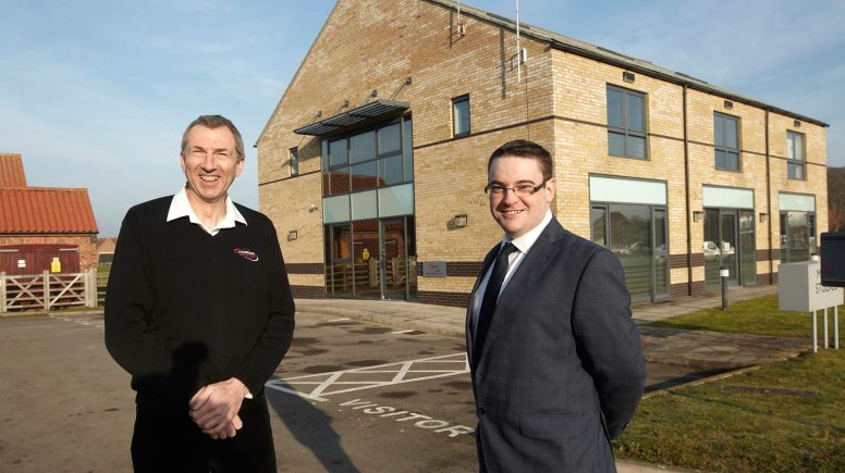 Dave Blades, business development director, and Dan Dowling-Brown, regional manager - Lincolnshire.