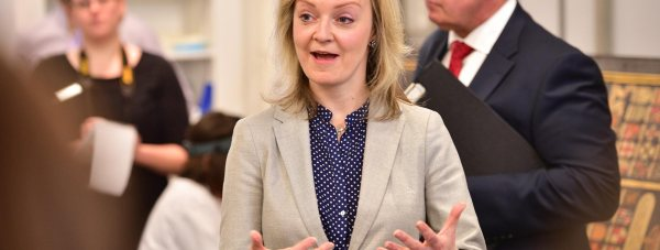 Liz Truss MP, Secretary of State for Environment, Food and Rural Affairs visited Lincoln to hear about the roll out of better broadband. Photo: Steve Smailes for The Lincolnite