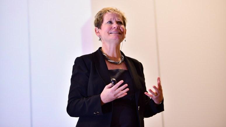 Guest speaker, Susan Hallam, Managing Director at Hallam Internet Ltd. Photos by Steve Smailes