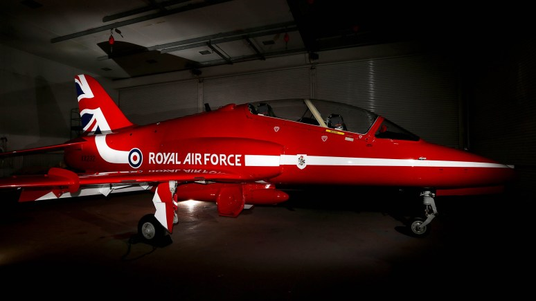 A look at the new design for the Red Arrows. Photo SAC Craig Marshall, MoD/Crown Copyright 2015