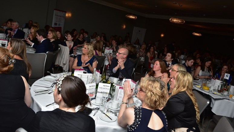 Angels bring Business Awards. Photo Steve Smailes for The Lincolnite