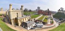 The six and a half acre grounds of Lincoln Castle will reopen to the public from April 1. Photo: Steve Smailes for The Lincolnite