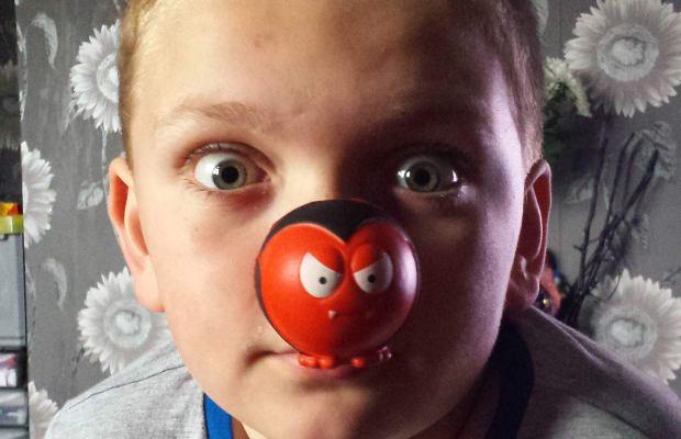 Nine-year-old Lewis Raby