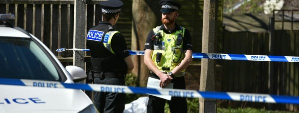 Police said officers will be conducting house to house enquires in the area. Photo: Steve Smailes for The Lincolnite