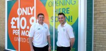 Pure Gym Lincolns Manager Steve Norton and Assistant Manager, Nick Kenyon. Photo: Sarah Harrison for The Lincolnite