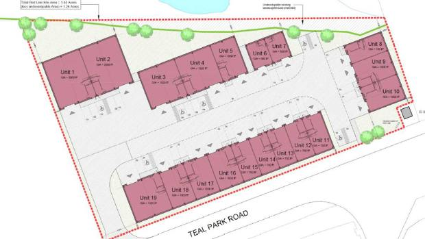 Teal Park development plans