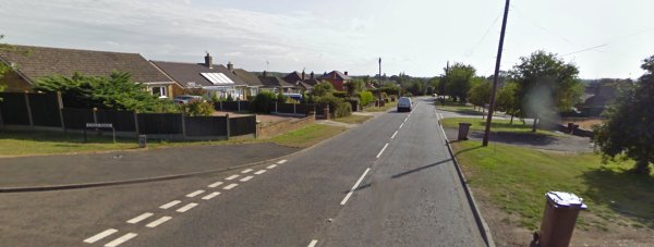 The crash happened on the B1189 in Metheringham on May 19.  Photo: Google Street View