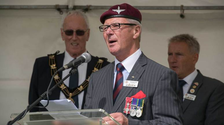 Lincoln Tank Memorial Group Chairman Joe Cooke. Photo: Steve Smailes for The Lincolnite