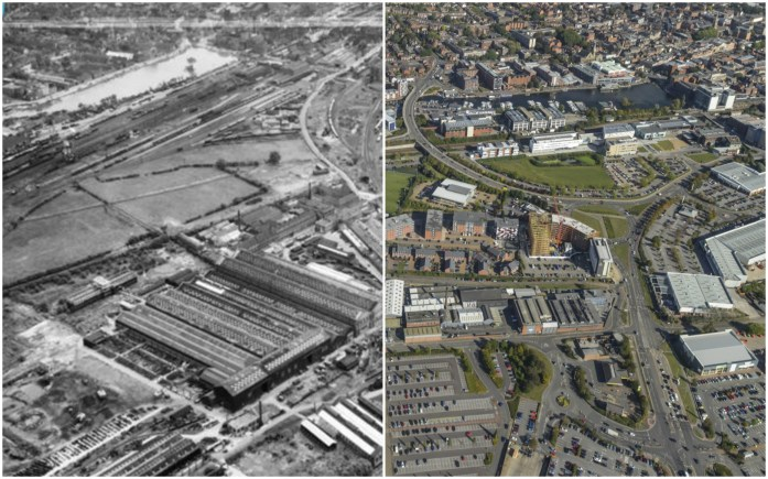 The construction of the University of Lincoln campus has played a major part in the changing landscape of the city.