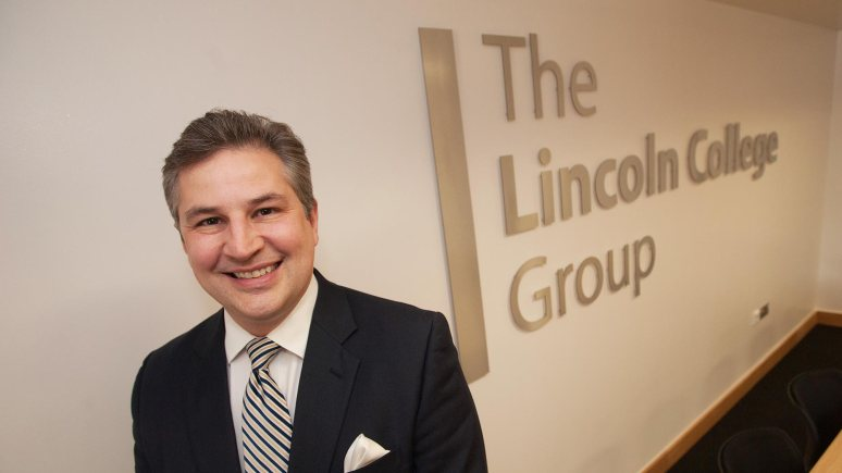 Gary Headland, CEO of the Lincoln College Group. Photo Steve Smailes for The Lincolnite