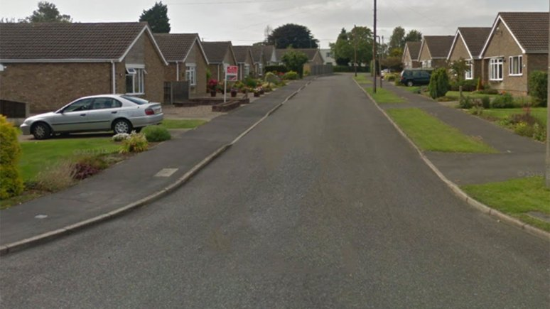 Meadow Close, North Hykeham. Photo: Google Street View