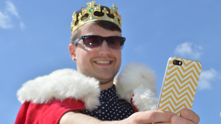 Join the Magna Carta anniversary celebrations in Lincoln by taking a royal selfie.