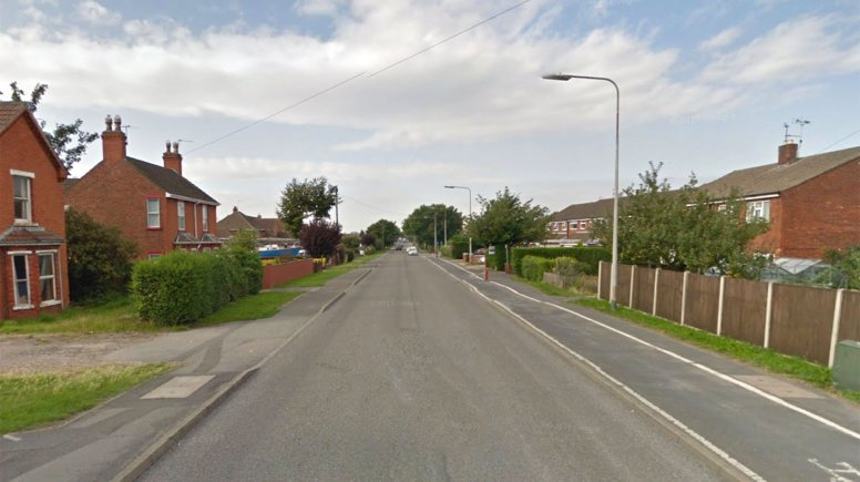 Temporary traffic lights will be in place on Station Road in North Hykeham for seven weeks. Photo: Google Street View