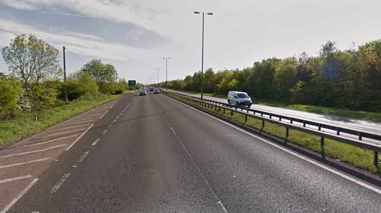 The A46 at Swinderby. Photo: Google Street View