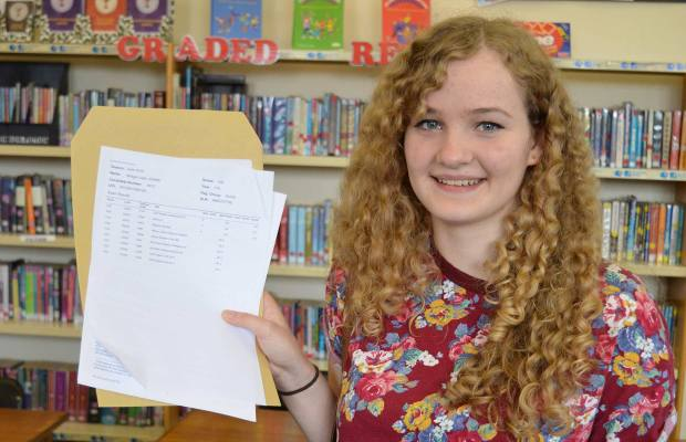 Bridget Johns who got two As in History and Philosophy and Ethics and an A* in History. She will attending Oxford University to read archaeology and anthropology