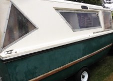 The 37-year-old boat had been on dry land for 15 years and its new owner will be helping our a local charity.