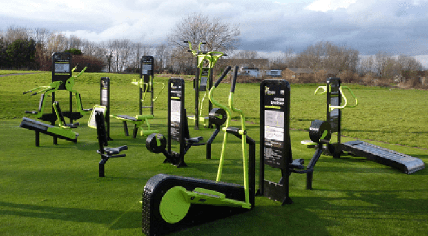 The Parklands outdoor gym