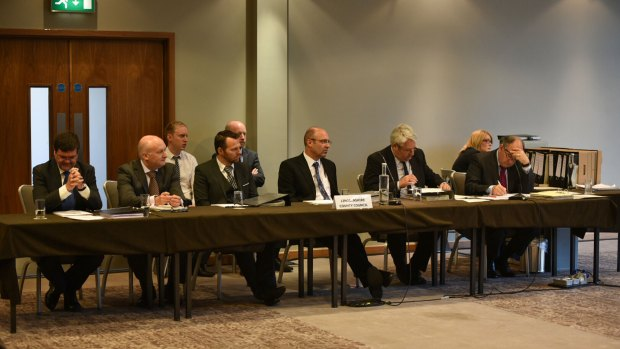 DfT officials consider the case for and against Compulsory Purchase and Side Roads Orders for the Lincoln Eastern Bypass. Photo: Steve Smailes for The Lincolnite