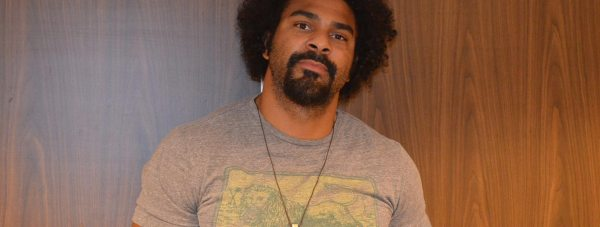 Former heavyweight world champion David Haye in Lincoln on September 18