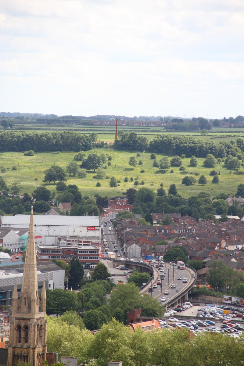 The spire can now be seen towering over the city. Photo: The Lincolnite
