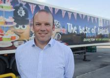 James Truscott, Managing Director for Branston Ltd is showing the nation the Best of British potatoes. Photo: Steve Smailes
