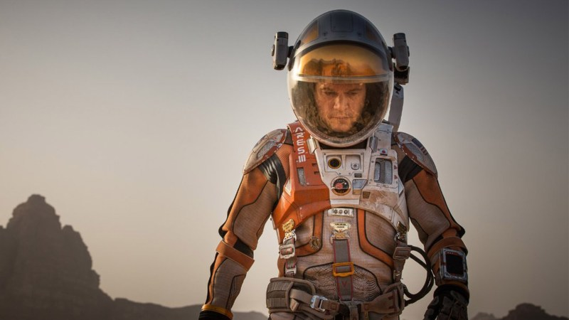 Matt Damon in The Martian (2015). Photo: Twentieth Century Fox Film Corporation