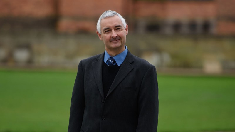 Former finance director at the federation of academies Stephen Davies outside Lincoln Crown Court. Photo: Steve Smailes for The Lincolnite
