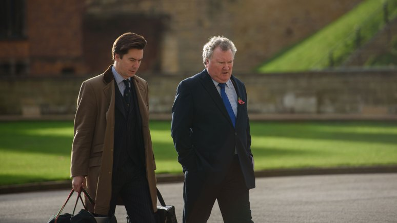 Richard Gilliland (right) attending Lincoln Crown Court. Photo: Steve Smailes for The Lincolnite