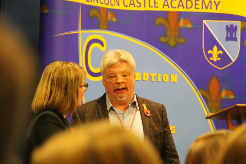 Simon Weston OBE. Photo: The Lincolnite