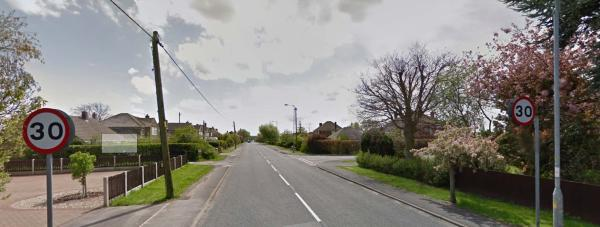Mill Lane in Saxilby. Photo: Google Street View